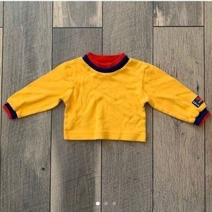 VINTAGE Mickey Double Collar Longsleeve